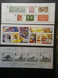 GB-2019-Commemorative-Stamps-Year-Set-of-Miniature-Sheets-Unmounted-Mint-11-UK