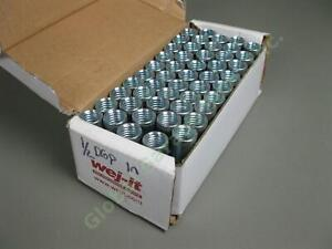 "49 NEW Wej-It WD12 1/2"" Carbon Steel Standard Drop In Concrete Anchor Lot NIB"