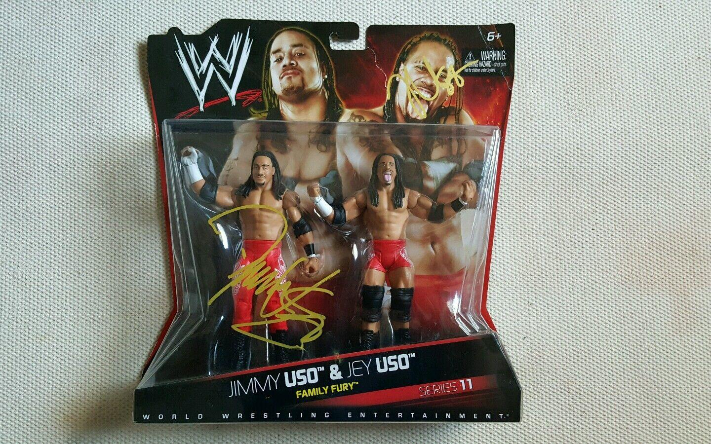 WWE Usos Jimmy & Jey Series 11  RARE
