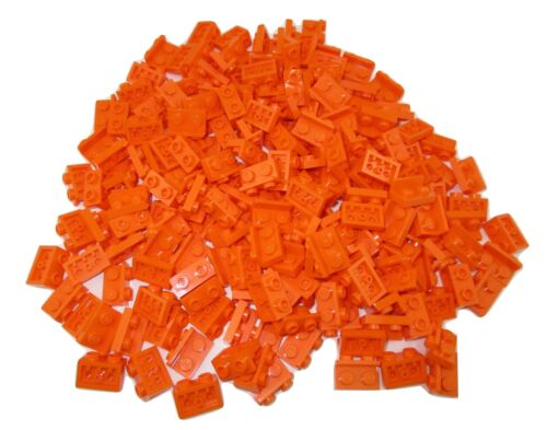 LEGO Orange Bracket 1x2-1x2 Inverted Lot of 50 Parts Pieces 99780