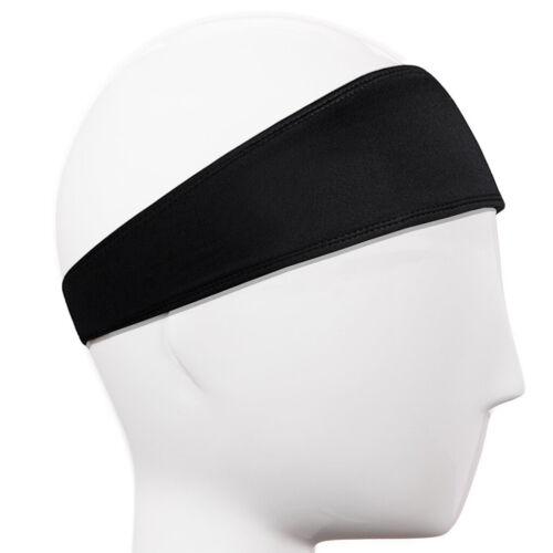 1-3PCS Women Men Headband Moisture Wicking Sport Sweatband  Yoga Gym Fitness New