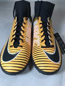 best loved 2a4b1 52e5b Image is loading Nike-MercurialX-Victory-DF-TF-Soccer-Shoes-Laser-