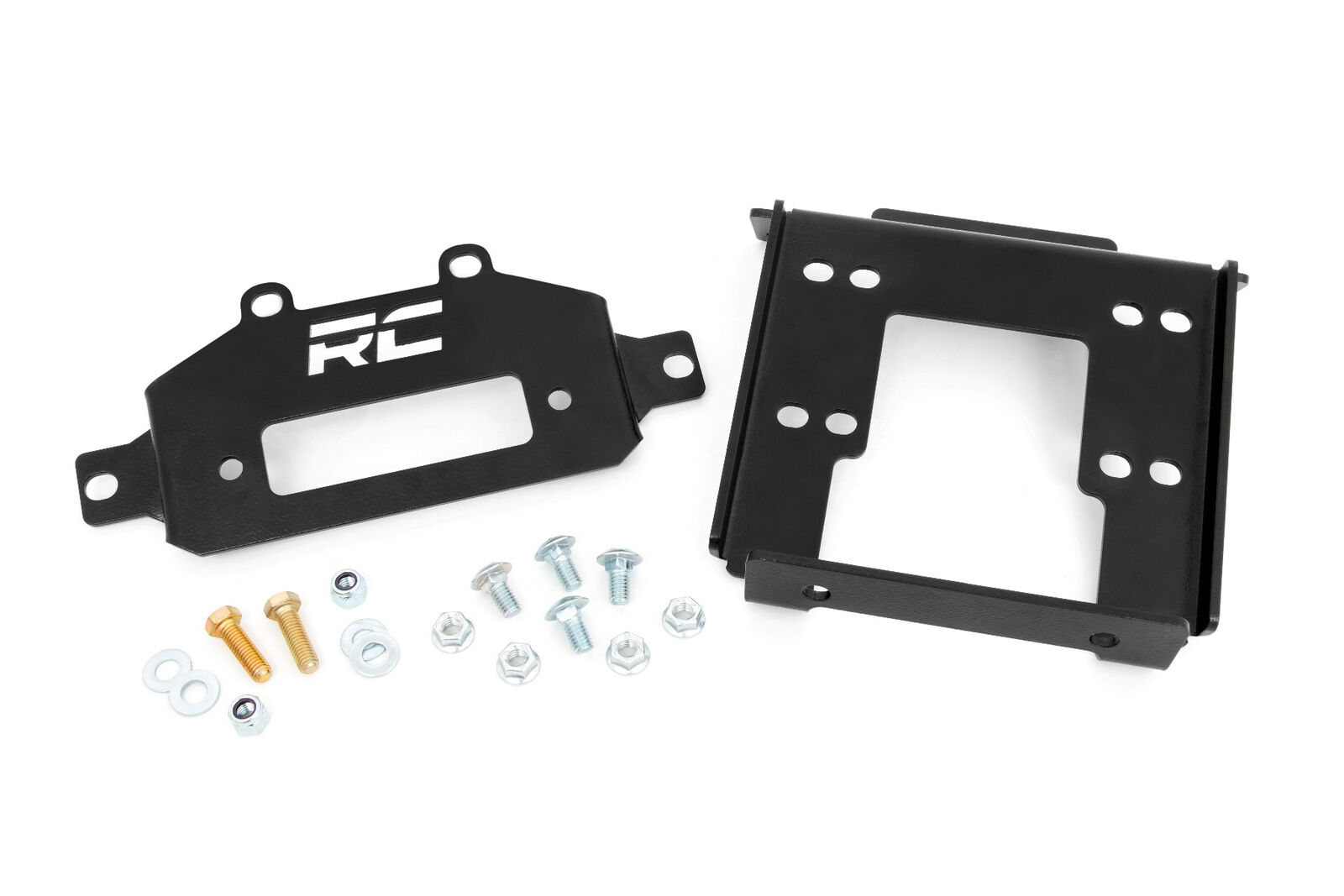 Rough Country Winch Mounting Plate for 2017-2020 Can-Am Maverick X3-97028