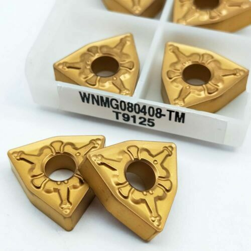 WNMG080408 TM 9125 carbide insert for stainless steel 10pcs WNMG432-TM T9125
