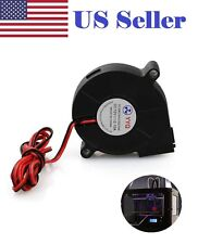 12V DC 50mm Blower Radial Cooling Fan Hotend Extruder For RepRap 3D Printer