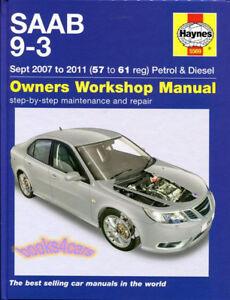 shop manual 9 3 service repair saab haynes 93 book workshop guide ebay rh ebay com 2004 saab 9-3 service manual 2004 saab 9 3 owner's manual pdf