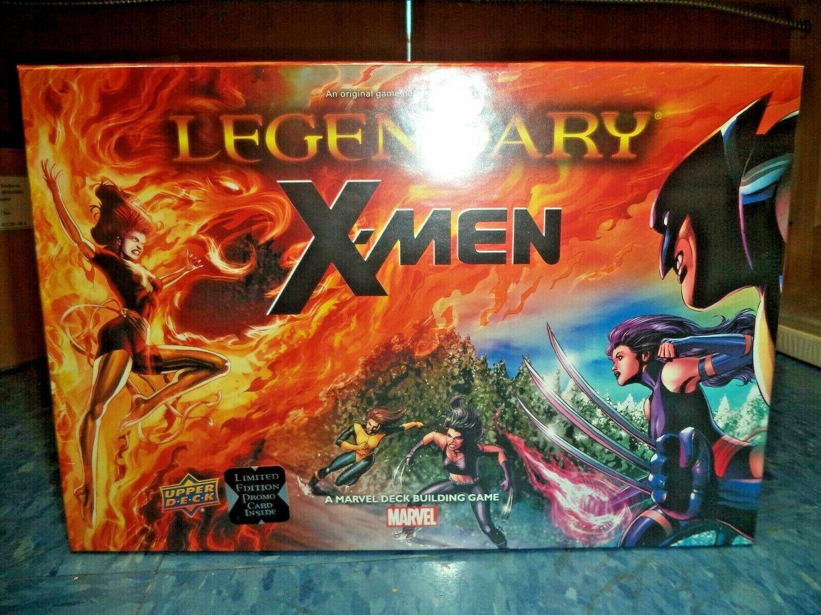 Legendarios de Marvel Dbg X-men Cubierta súperior De Expansión Juego De Mesa Deckbuilding Nuevo