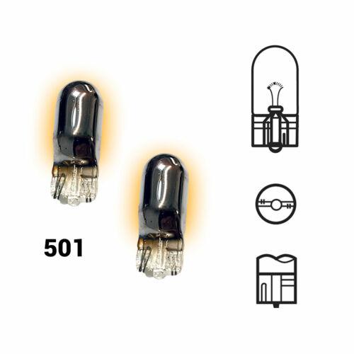 2x Indicator Bulbs Chrome Xenon Amber Orange To Fit Honda Legend MK4