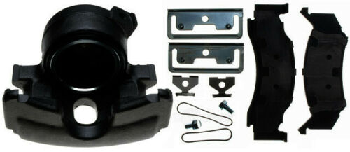 Disc Brake Caliper-Non-Coated Loaded with Semi-Metallic Pads Front Left Reman
