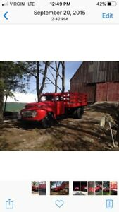 1948 F6. Ford 2 ton  flatbed