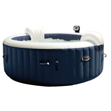 Intex 28405E Pure Spa 4-Person Home Inflatable Heated Bubble Hot Tub