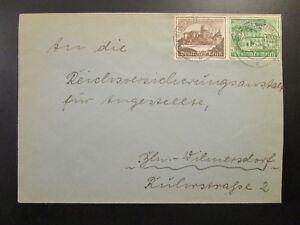 Germany-1940-Cover-w-2-Semi-Postals-Z6690