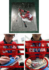 """MIKE RIDDLE signed """"2014 SOCHI OLYMPICS"""" Photo EXACT PROOF A Ski Halfpipe SILVER"""