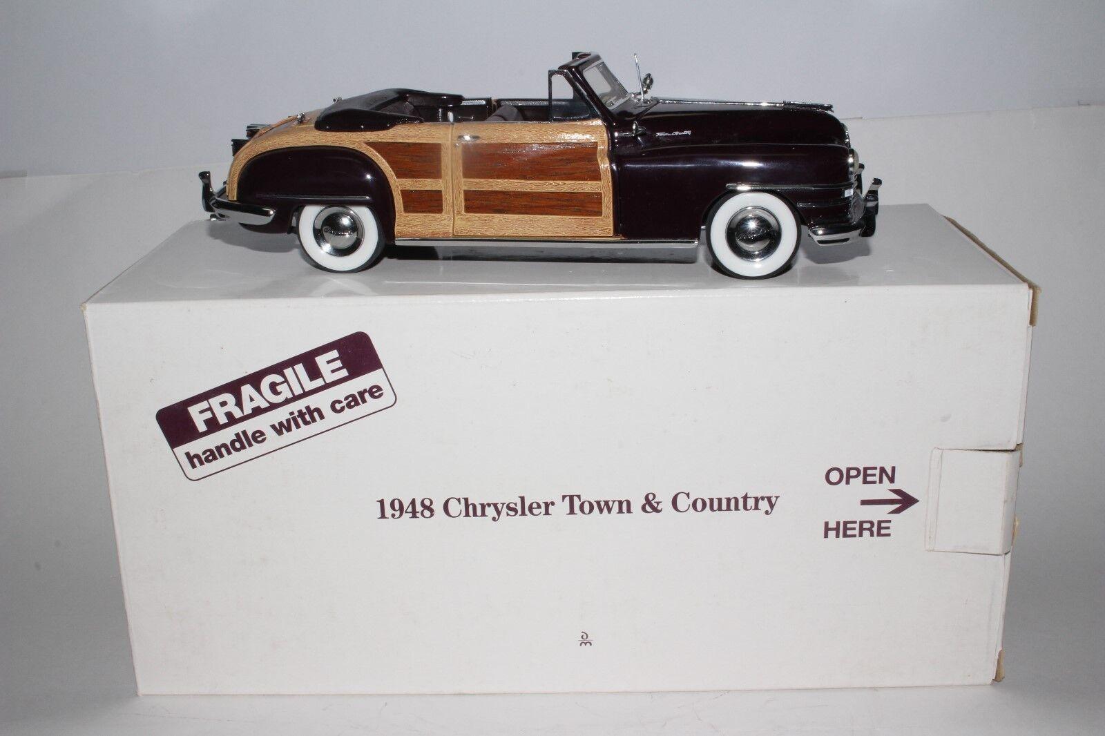 Chrysler - 1948 von stadt und land werden viele dienste ein diecast modell b
