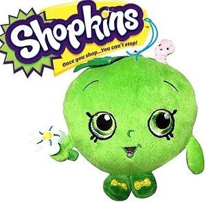 Image Is Loading NEW Shopkins Season 1 Green Apple Blossom Plush