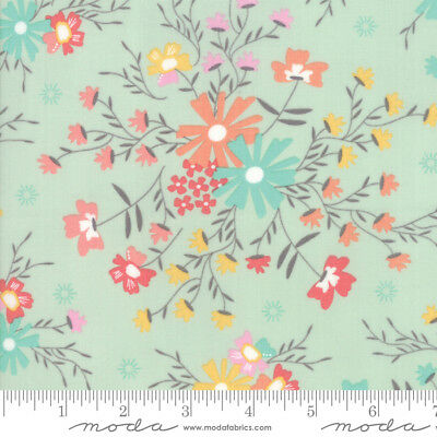 Moda SUNNYSIDE UP 29051 24 Large Brown Floral COREY YODER Quilt Fabric