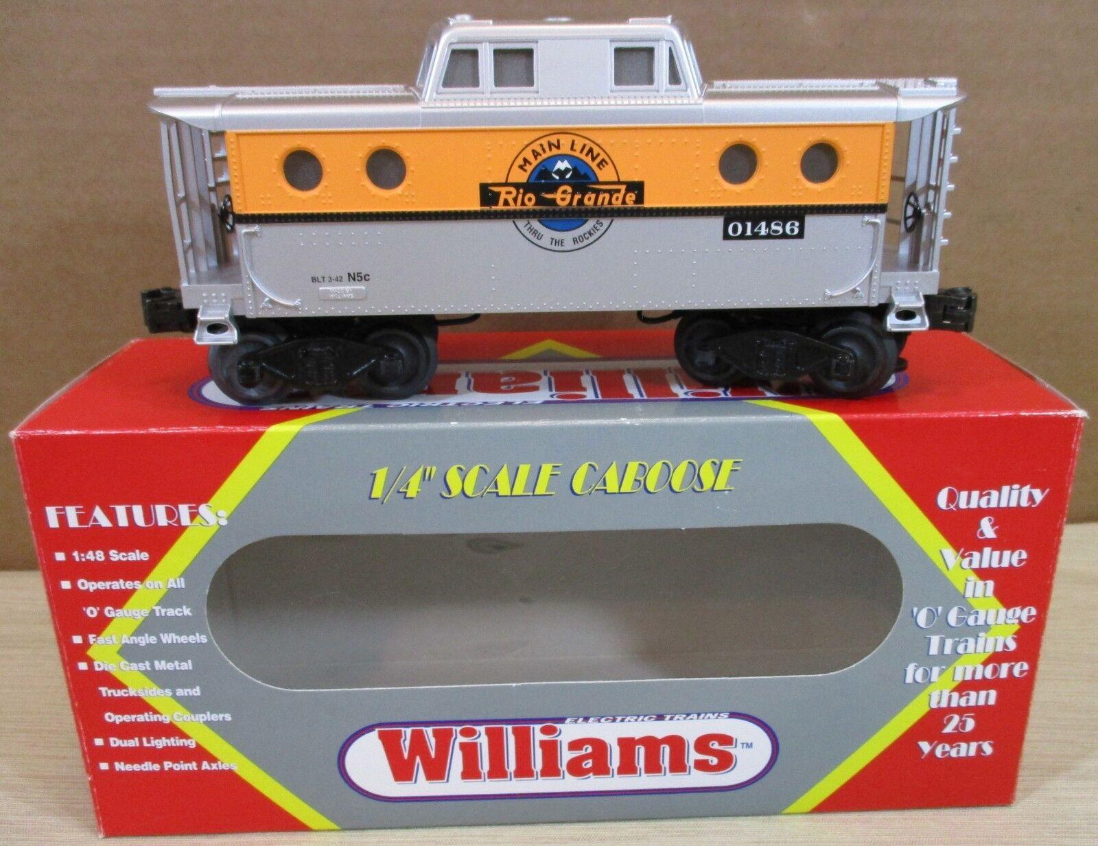 sin mínimo Williams Tren FerroCocheril FerroCocheril FerroCocheril N5C Portilla furgón de cola  Rio Grande  o escala calibre O-27 Nuevo  hasta un 70% de descuento