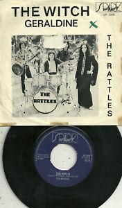 "S Rattles-The Witch/Geraldine (1970) Sweden 7"" Spark Sp 5008"