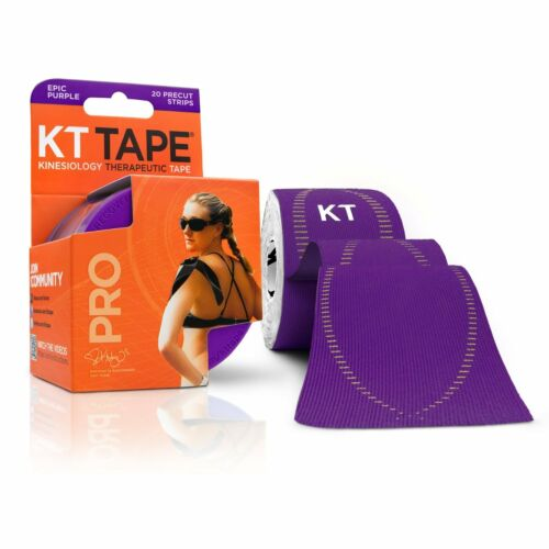 KT Tape Pro Kinesiology Elastic Sports Tape Support Epic Purple