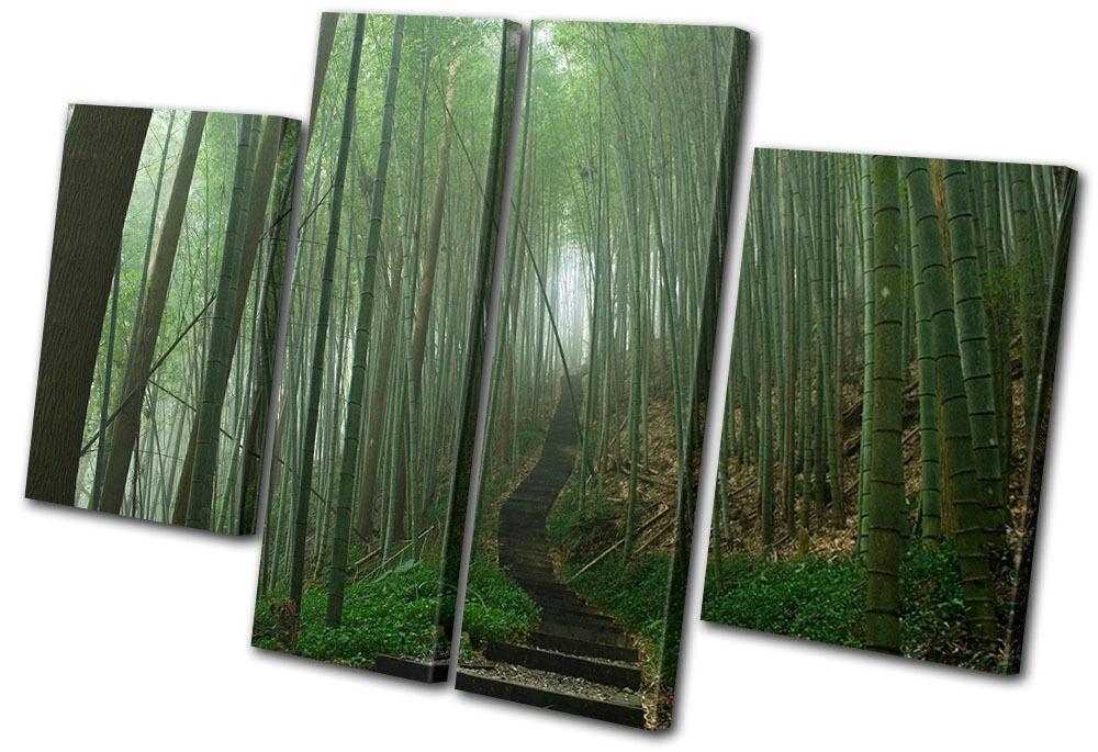 Landscapes Japanese Forest MULTI Leinwand Wand Kunst Bild drucken
