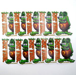 10Pcs Rat Fink Wild Child Decal Vinyl Ed Roth Big Daddy Classic Laptop Stickers