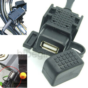 2-1A-Motorcycle-GPS-Waterproof-Mobile-Phone-USB-Power-Supply-Socket-Charger-Port