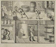 BERUFE - BIERBRAUER - Orbis Pictus - Lithografie 1833