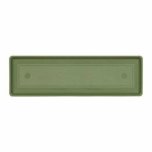24-Inch Sage Novelty Countryside Flower Box Tray