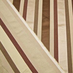 Image Is Loading 11 Yards Grosgrain Satin Stripe Decorator Designer Fabric