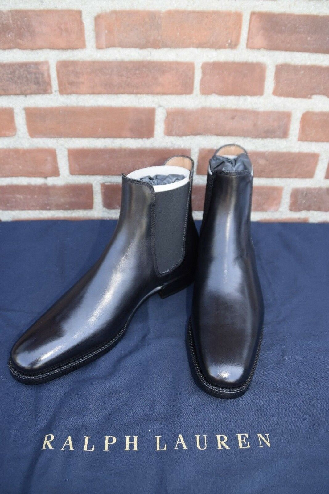 Ralph Lauren Violet Hommes Label collection italienne Penfield Chelsea Bottes Noir