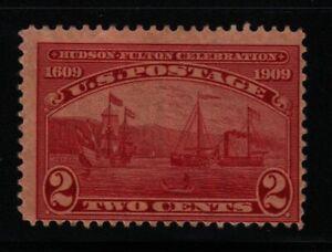1909-Sc-372-Hudson-Fulton-MNH-CV-21