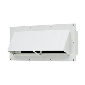 RV Wall Vent Exterior Horizontal Lockable Damper Trailer Camper ...