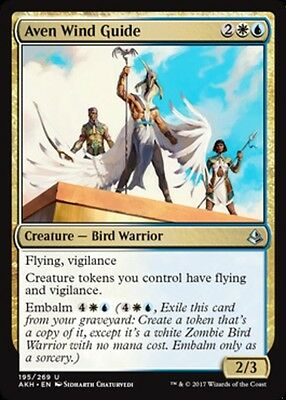 English x4 Aven Wind Guide MTG Amonkhet U M//NM