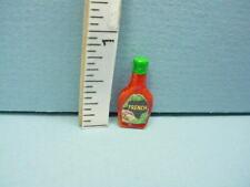 Squeeze Bottle Miniature MW Salad Dressing Blue Cap DOLLHOUSE 1:12 Scale