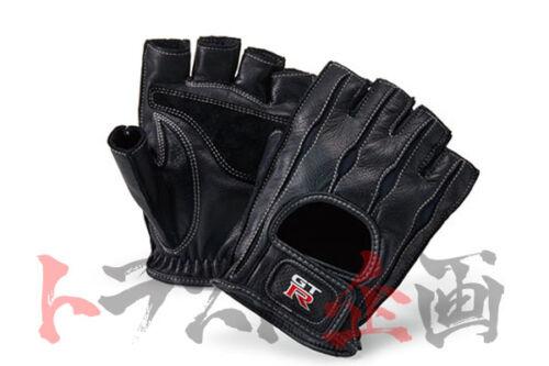 GT-R Logo Cow Leather Driving Glove L Size SKYLIN R32 R33 R34 R35 KWA52-03H03