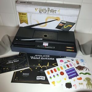 Build a wand Make magic Learn to code Kano Harry Potter Coding Kit