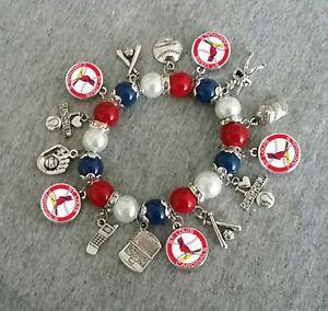 St Louis Cardinals Bracelet Ebay