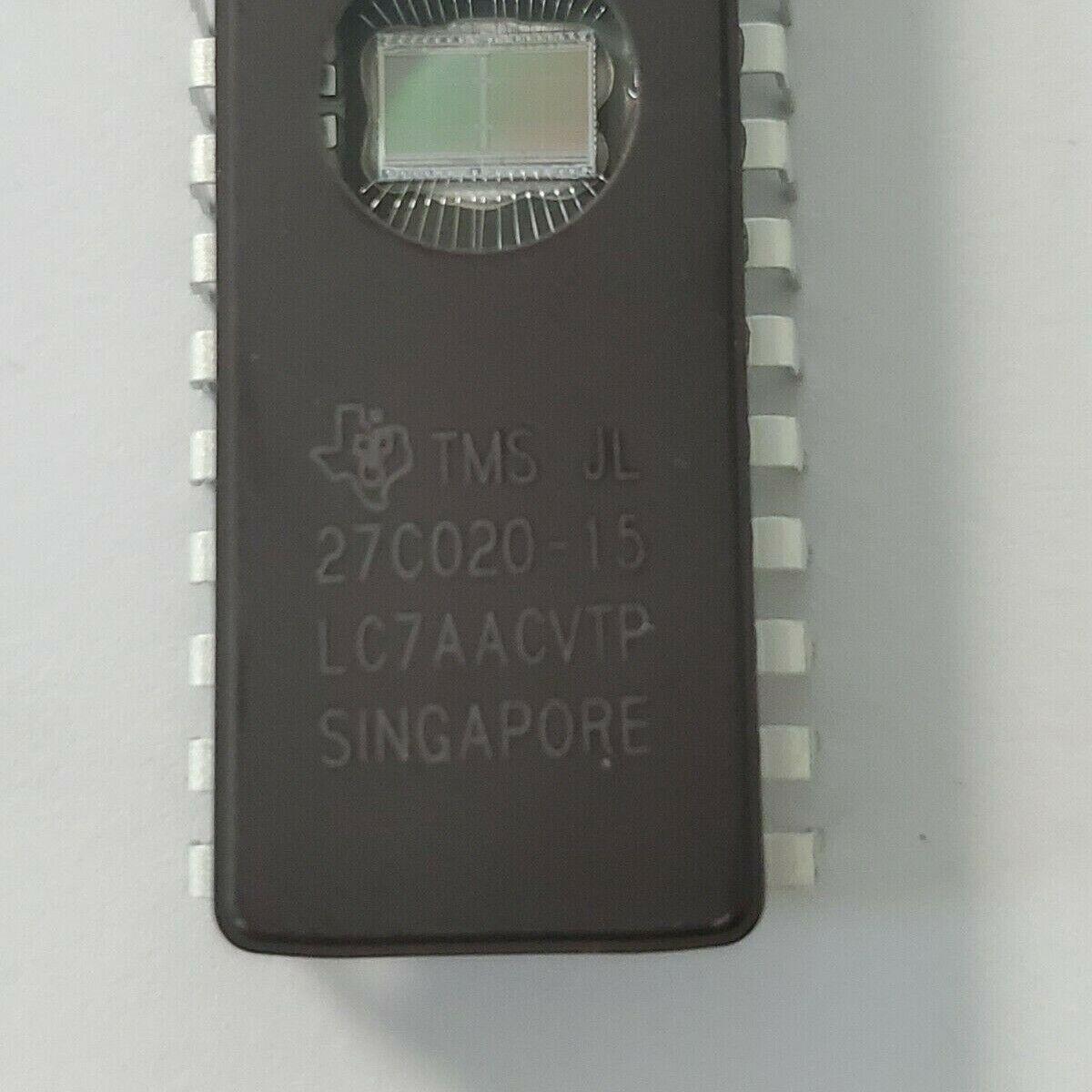 Eprom TMS27C020-15JL Texas Instruments WDIP32 35,00 € UV 11 Stück
