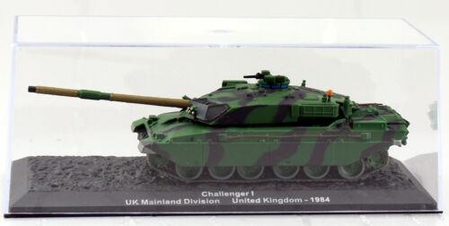 Panzer Challenger I UK 1984 United Kingdom Fertigmodell 1:72 Altaya