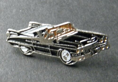 CADILLAC 1959 BLACK CADDY CONVERTIBLE AUTOMOBILE CAR AUTO PIN BADGE 3//4 INCH