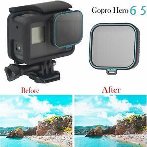 Nouveau-TELESIN-CPL-Filtre-Polarisant-Camera-Protecteur-Lentille-Verre-Pour-GoPro-Hero-6-5
