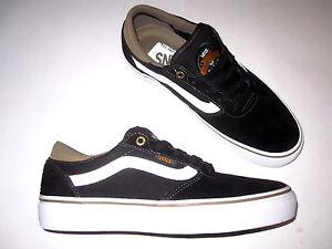 Vans-Gilbert-Crockett-Pro-Black-Rubber-Pro-Model-new-skate-shoe-skateboard-DIY