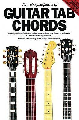 The Encyclopedia of Guitar Tab Chords Sheet Music Book NEW 014010350