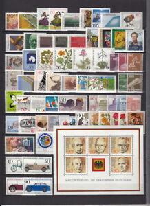 B-R-D-Sammlung-1980-1989-postfrisch-auf-7-DIN-A4-Seiten-MW-725-R225-4