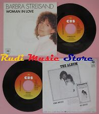 LP 45 7'' BARBRA STREISAND Woman in love Run wild 1980 holland CBS no cd mc dvd*