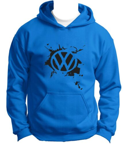 NEW Volkswagen Hoodie Hoody Hooded Sweatshirt Jumper Pullover