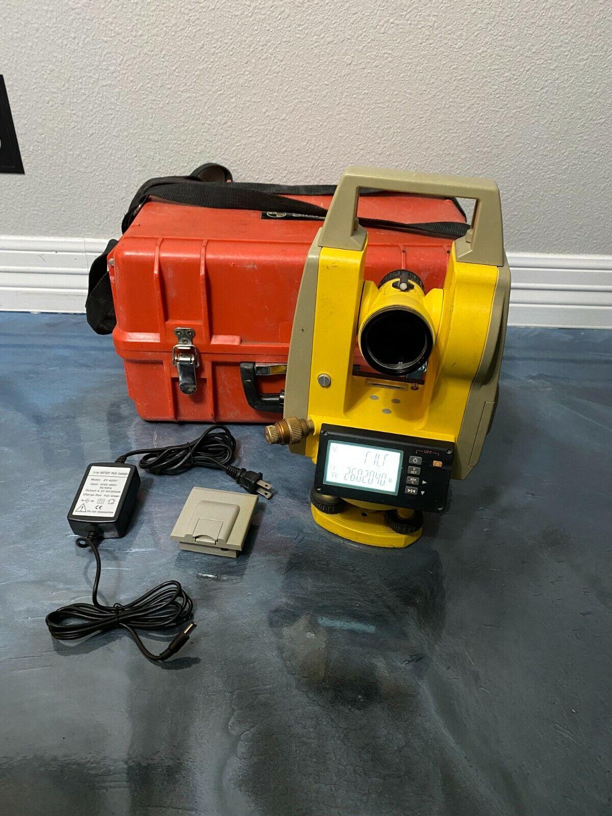 """SitePro 5"""" SKT05 5-sec. DIGITAL THEODOLITE With Optical Plummet"""