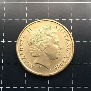 2008 AUSTRALIAN $1 ONE DOLLAR COIN CENTENARY OF SCOUTING SCOUTS AUSTRALIA