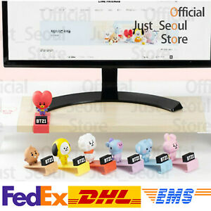 Official-BTS-BT21-Baby-Monitor-Stand-Figure-Clip-Freebie-Free-Express-Authentic