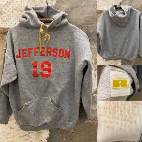 Vintage Russell Hoodie Crewneck Sweatshirt True V… - image 1